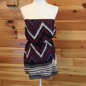 Express strapless dress. Size small.